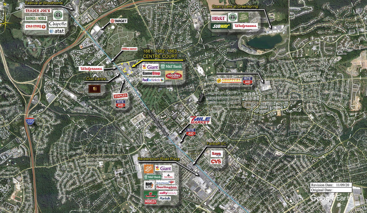 pikesville md centre court retail space kimco realty