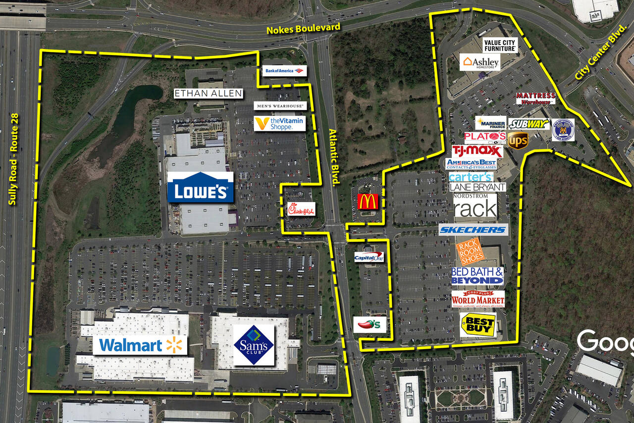 Sterling VA: Dulles Town Crossing - Retail Space - Kimco Realty on
