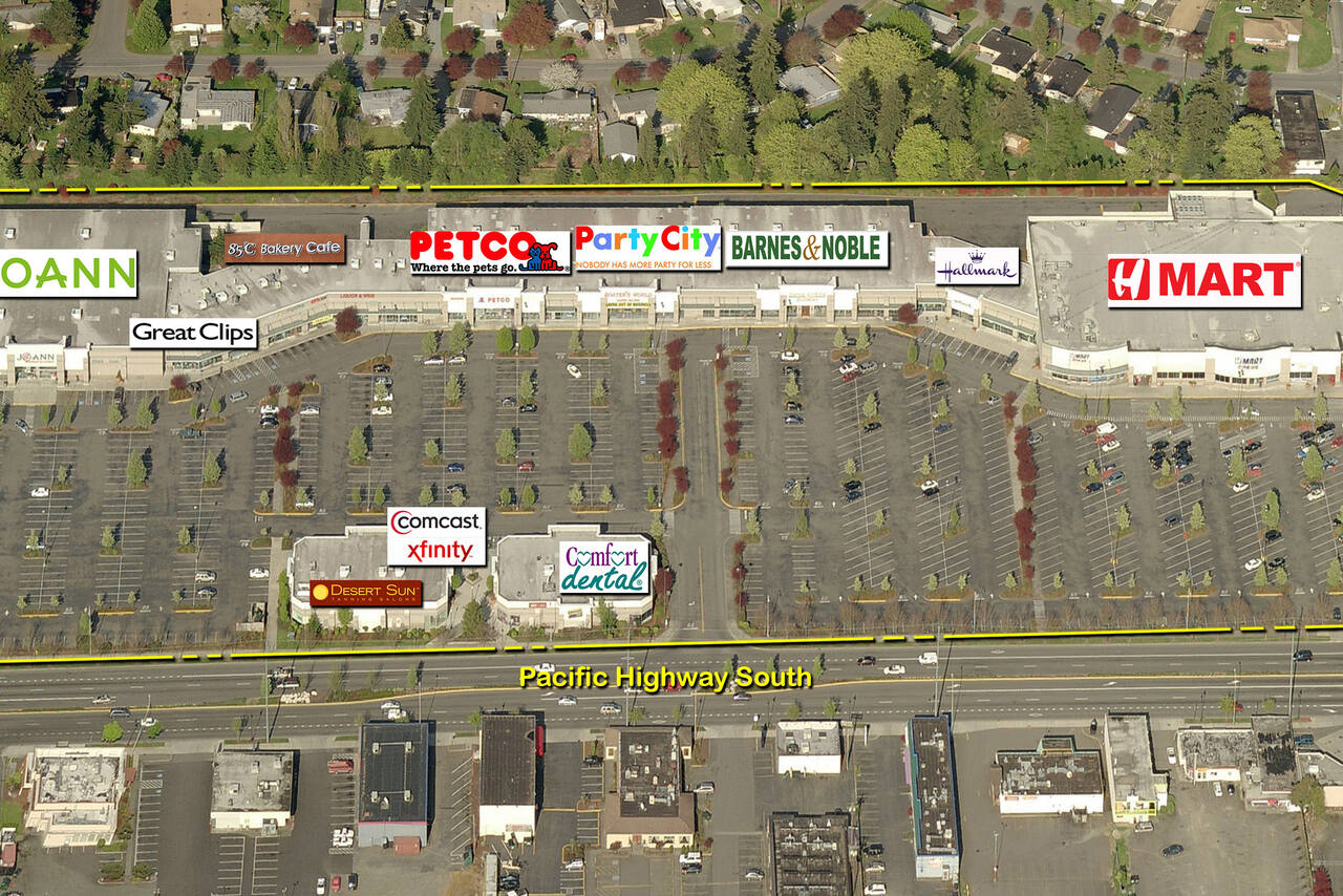 Federal Way WA: Pavilions Centre - Retail Space - Kimco Realty