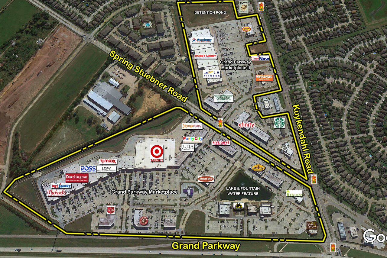 Spring TX: Grand Parkway Marketplace II - Retail Space